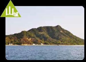 百島茶臼山城跡